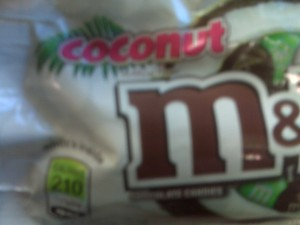 coconut m&amp;ms